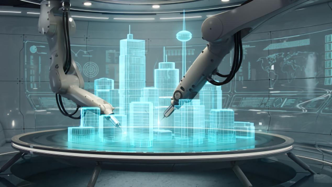 固建机器人—机械臂