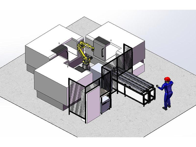 虚拟实景生产线仿真技术